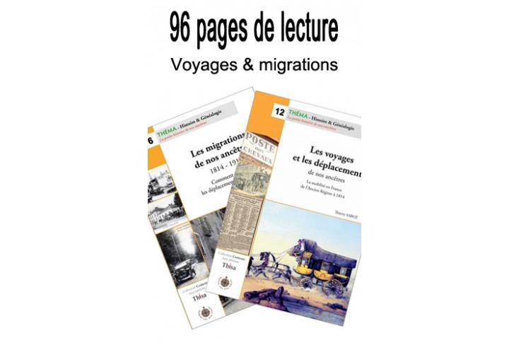 Lot Voyages et migrations