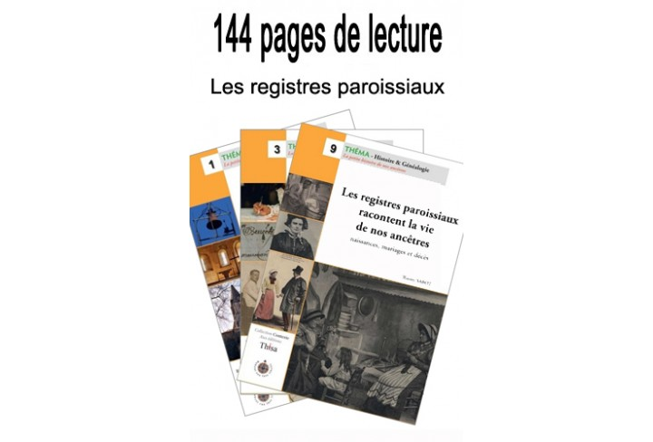 Lot Les Registres paroissiaux